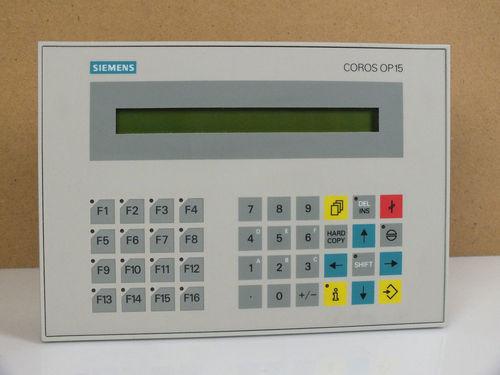 OPERATOR PANEL OP15/A 2-ZEILIG, 40 ZEICHEN/ZEILE, MIT INTEGRIERTEN SCHNITTSTELLEN (2 X TTY/V.24 UND