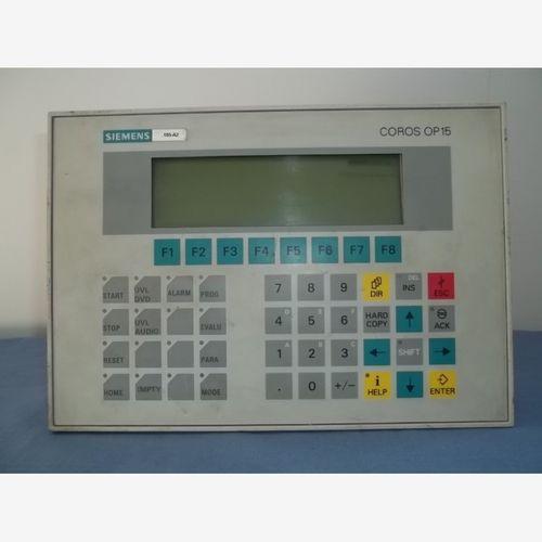 OPERATOR PANEL OP15/C1 4ZEIL.,20 ZEICH./ZEILE O.8ZEIL. 40 ZEICH./ZEILE,INT.SCHNITTST. 2 X TTY/V.24 U