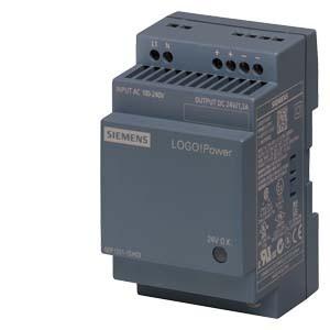 LOGO!POWER 24 V/1,3 A GEREGELTE STROMVERSORGUNG EINGANG: AC 100-240 V (DC 110-300 V) AUSGANG: DC 24