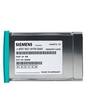 SIMATIC S7, MEMORY CARD FUER S7-400, LANGE BAUFORM, 5V FLASH-EPROM, 256 KBYTE